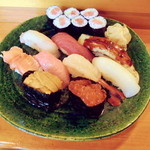 一心亭 - 料理写真:特上にぎり3500円別。