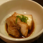 和ごころ 喜心 - 焚き物:のどぐろと豆腐の炊き合わせアップ