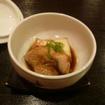 和ごころ 喜心 - 焚き物:のどぐろと豆腐の炊き合わせ