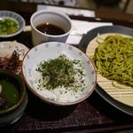 中村藤吉 - 茶蕎麦セット¥1,201