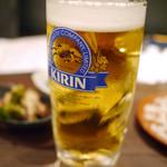 馬鹿凡人 - 馬・鹿料理と一緒に生ビール