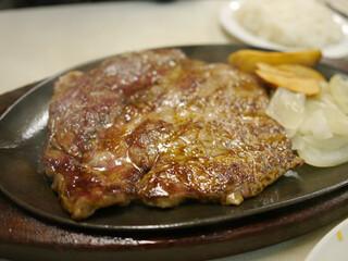 ジャッキー ステーキハウス - ニューヨークステーキ L(250g)¥1500