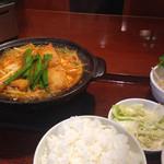 赤から - 赤辛鍋ランチ