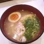 はま寿司 - 鶏塩白湯ラーメン280円。