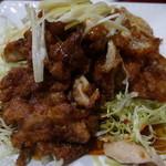 華龍飯店 - 鶏の空揚げ甘酢あん