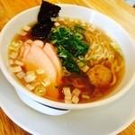 神王 - ラーメン(奥美濃古地鶏)750円(税込)