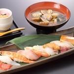 板さんおススメにぎり寿司定食