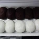 ナダシンの餅 - おはぎ&月見団子