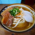きしもと食堂 - 岸本そば(大) ¥650