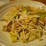 あっぱりしゃん - アダンと豚肉の炒め ¥700