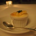 プリズマ - 白いかの煮込みとジャガイモのスフレ