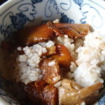 モスバック - 料理写真:キノコご飯