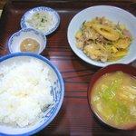 たぬき - 「肉じゃが定食」650円