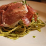 ラ・マーノ - 生ハムのジェノベーゼスパゲッティ