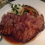 メデューサ - コースのお肉料理