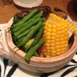 30967426 - 蒸し野菜