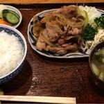 30967847 - 豚の生姜焼き
