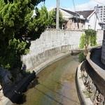 ロビンフッド - おまけ、横を流れる運河です、加古川は、運河の多い街なんです(2014.9.25)