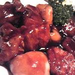 3097340 - 黒酢の酢豚