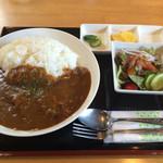 レストラン花 - 牛カレー