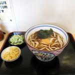 一福製麺所 - 月見うどん(420円)