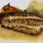 ル・プティ・トノー - 真鯛のポアレ タラのブランタード添え 白ワンなくしてはたべれませんね・・・