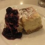 エルグレコ - ケーキセットのNY風チーズケーキです。
