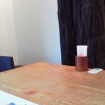 櫓庵治 - テーブル席