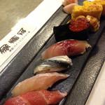 菊寿司 - 料理写真:コース3000円の握り