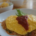 にんじん - 料理写真:にんじんオムライスセット