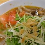 ニャーヴェトナム・フォー麺 - 牛すじトマトのフォー