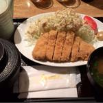 ぶたじろう - ロースカツ定食 900円