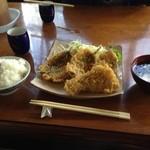 2014年8月:地魚フライ定食(\850)