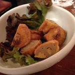 九州厨房 あらごし団 - からしれんこん。味・食感ともに最高だ。