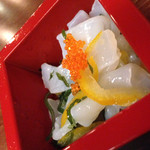 九州厨房 あらごし団 - お通し。
