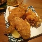 ふく鶴 - 鶏唐揚げ