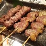 ふく鶴 - 砂肝、ハツ