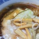 釧路ラーメンハウス - チャーシュー、メンマ
