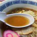 釧路ラーメンハウス - スープ