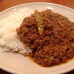 KAMMO Curry+Cafe Asakusa - 浅草ホットキーマカレー