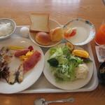 ブッフェレストラン テラス - 料理写真:モーニングビュッフェ 1000円