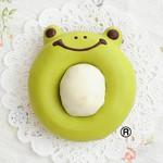 『カエルくん=緑』