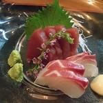 30988405 - 特選刺身(マグロ赤身と鯛)