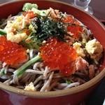 北海道バル - 料理写真:海鮮親子そば