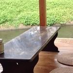 30989605 - 水辺の縁側席(26.9撮影)