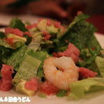 スウィートバジル - 2014年9月 海老とアボカドのサラダ
