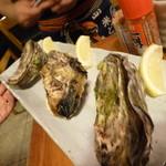 廣島屋波平商店 - 焼き牡蠣