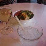 3.14バール - サラダ&ワイン&ジントニック
