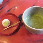 3099641 - 抹茶セット(吉はしの上生菓子)