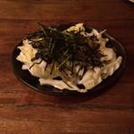 串焼 utan - 白菜としらすの和風サラダ